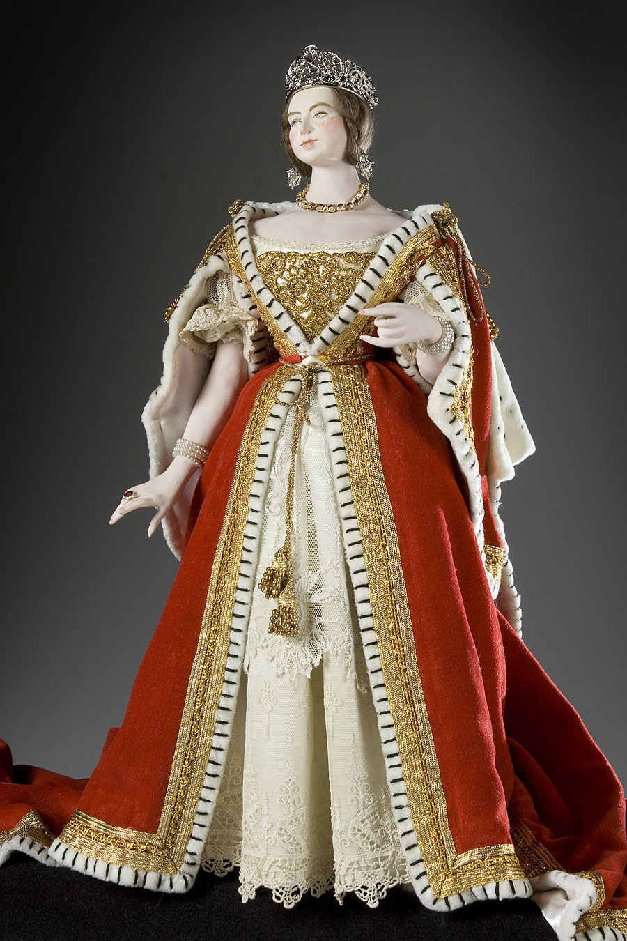 Queen Victoria In Coronation Dress By George Stuart