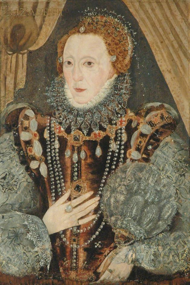 Queen Elizabeth I by ? (Richmond Collection - Richmond, North Yorkshire)