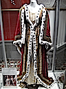 Queen Victoria's coronation dress & pre-coronation robe used in filming Young Queen Victoria on display at Victoria Mall in Sydney NSW Photo - moorina