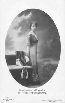 0ddcaecc484 ALBUMETTE  Princess Sandra - Alexandra of Saxe-Coburg-Gotha