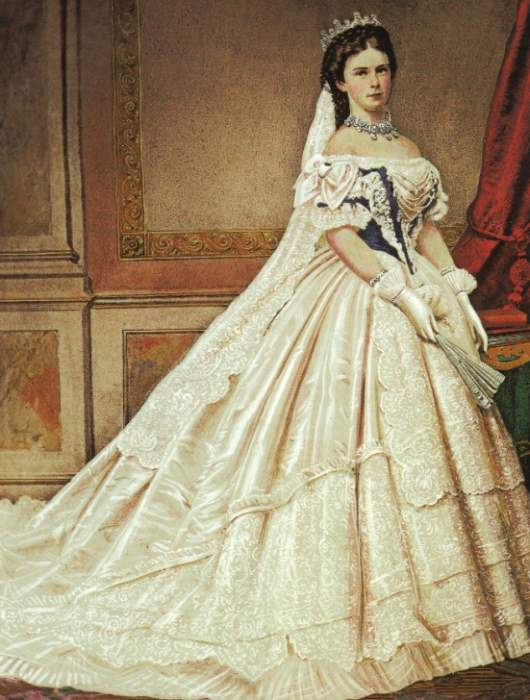 Elisabeth in Hungarian court dress