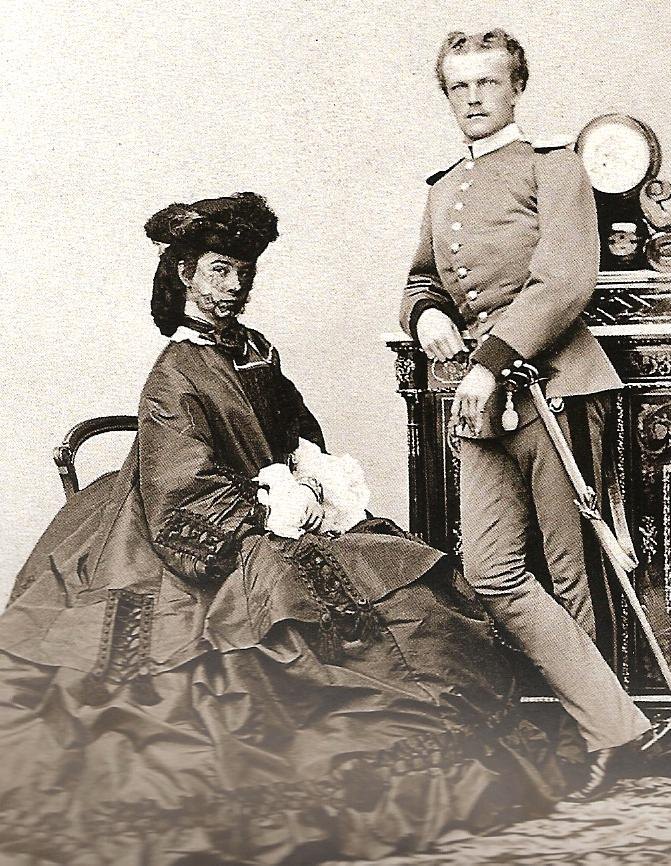 1862 Sisi and Karl Theodor by Ludwig Angerer