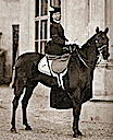 1863 Photo of Sissi smiling on horse
