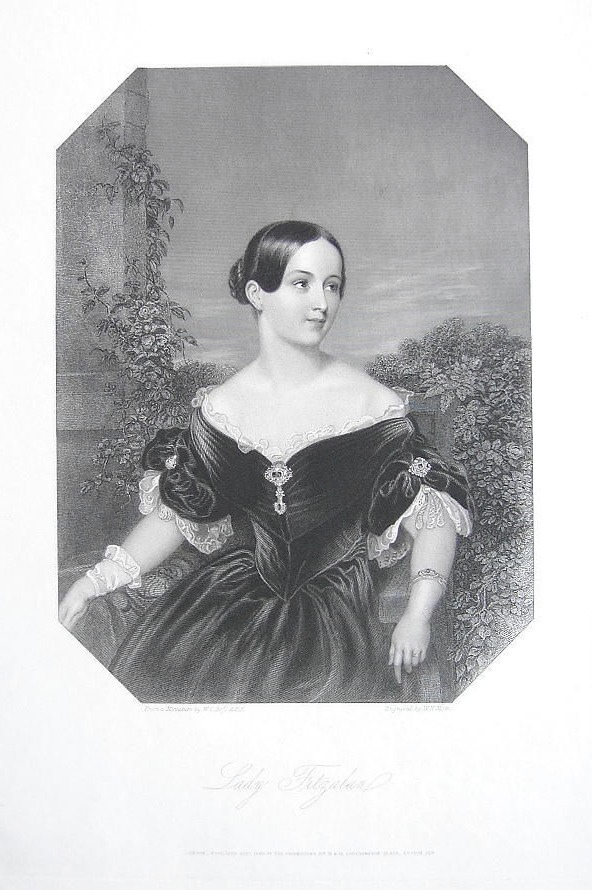Lady Fitzalan, possibly Charlotte Sophia Fitzalan-Howard (née Leveson-Gower), Countess of Surrey and Duchess of Norfolk
