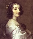 Looking back Sophie von der Pfalz by Sir Peter Lely (location unknown to gogm) Wm