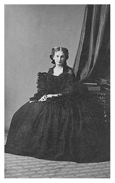 Sophie de Morny seated looking towards camera by André-Adolphe-Eugène Disdéri FDxMinnie 24Apr10 detint