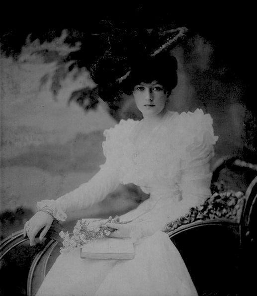 Sybil, Countess of Westmorland (1871-1910) née Lady Sybil Mary St. Clair-Erskine From pinterest.com:edwardiangaiety:the-souls