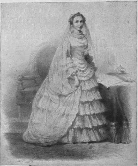 1853 The Empress Eugénie, Famous For Her Elaborate