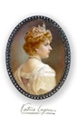 Miniature of Victoria Eugenia set in diamonds and pearls by Garcia Castillo (location unknown to gogm)
