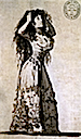 The Duchess of Alba Arranging Her Hair by Francisco José de Goya y Lucientes (Biblioteca Nacional, Madrid)