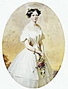 1853 Young Marie-Henriette just arrived in Belgium by Bernard