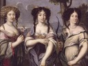 Three Nieces of Cardinal Mazarin by ? (location unknown to gogm)