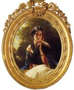 Princess Leonilla of Sayn Wittgenstein Sayn by Franz Xaver Winterhalter (private collection)