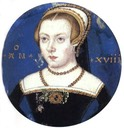 Unknown Lady also called Lady Jane Grey attributed to Levinia Teerlinc, (Yale University, Yale Center for British Art - New Haven , Connecticut USA)