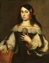Unknown Lady by Bartolomé Esteban Murillo (Philadelphia Museum of Art - Philadelphia, Pennsylvania, USA) From pinterest.com:marinarodina3:spanish-women-of-the-reigns-of-philipp-iv-and-char: fixed all edges