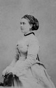 1869 or 1870 (estimated) Princess Victoria, Crown Princess of Prussia