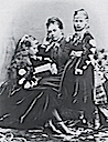 1870s Princess Royal Victoria, Charlotte, and Moretta