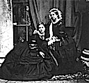 1857 Princess Royal Victoria with Queen Victoria