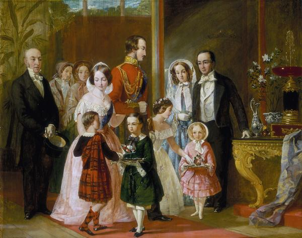 1854 Queen Victoria And Family By Location Unknown To