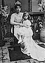1909 Victoria Melita and daughter Marie
