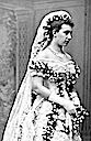 1881 Victoria of Baden's wedding dress bodice