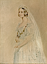 Victoria on her wedding day by William Drummond (location unknown to gogm)