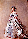 1856 Princess Royal Victoria dressed for her debut by Franz Xaver Winterhalter (Hessische Hausstiffung, Schloss Fasanerie Fulda Germany)