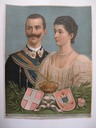 Vitorio Emanuele III and Queen Elena by Lieber (?)