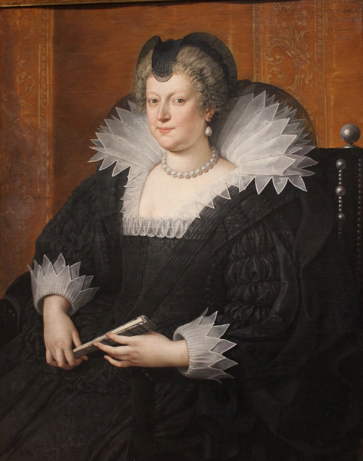 Widowed Marie de Medici by ? (location unknown to gogm) the lost gallery despot