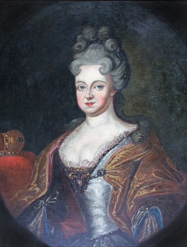 Wilhelmine Amalia of Brunswick-Lüneburg Holy Roman Empress by ? (location unknown to gogm)
