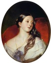 1843 Queen Victoria by Franz Xaver Winterhalter (Royal Collection)
