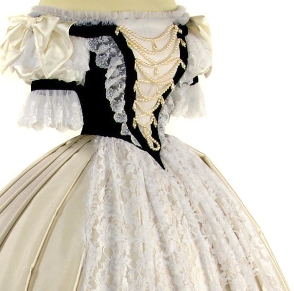Worth gown worn for the Hungarian Coronation APFxliljones1968 3Aug09