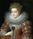 Young Elizabeth of France by Frans Pourbus the Younger (Museo Nacional del Prado - Madrid Spain)