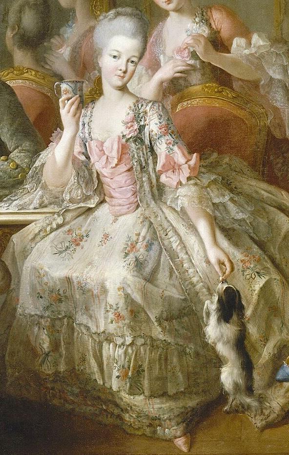 1768 La Famille du duc de Penthievre by Jean-Baptiste Charpentier -  princesse de Lamballe au centre | Grand Ladies | gogm