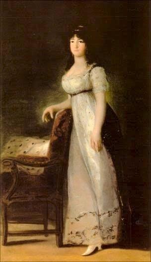 1804 La marquesa de Lazán by Francisco de Goya y Lucientes