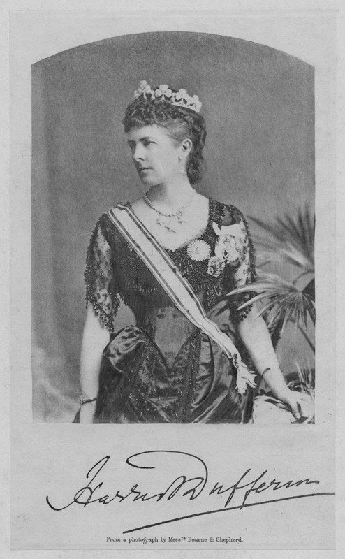 Hariot Hamilton-Temple-Blackwood, Marchioness of Dufferin and Ava