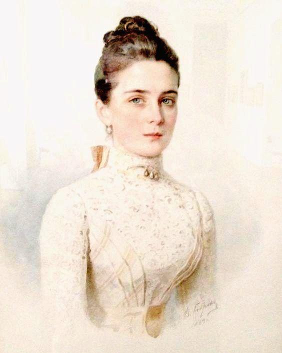 1891 Zinaida Nikolaievna Yussupovna by ? (location ?) | Grand Ladies | gogm