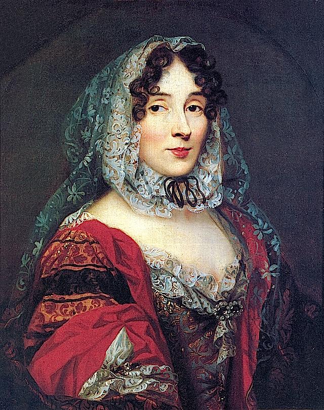 ca. 1670 Princesse des Ursins, Anne Marie de La Tremoille attributed to René Antoine Houasse