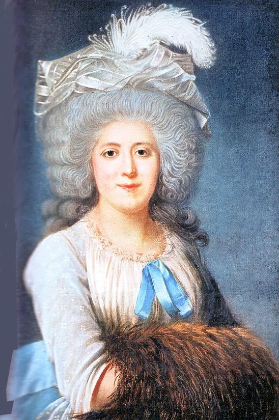 Madame Campan by Joseph Boze (location unknown to gogm) | Grand Ladies |  gogm