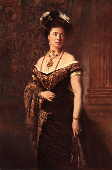 Baron Heinrich von Angeli (1840-1925) - Princess Margaret